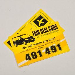 Unlaminated Business Cards