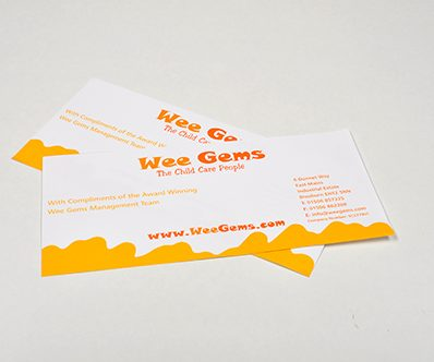 Compliment Slip Printing