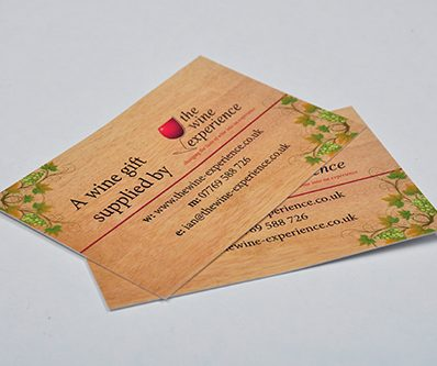 Uncoated Business Cards