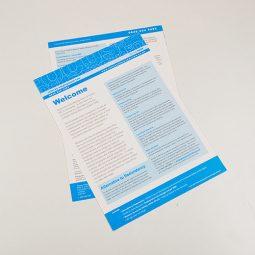 A4 Leaflets