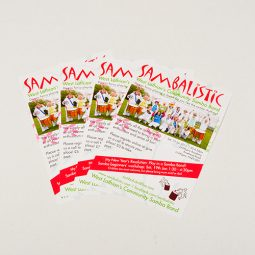 A6 Gloss Leaflets