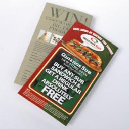 1/3rd A4 Gloss Leaflets