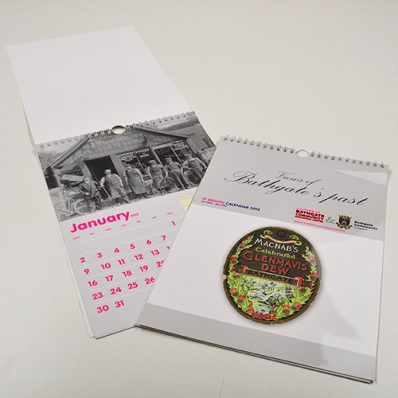A4 Hanging Calendar