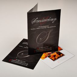 A3 Recycled Folded Leaflets