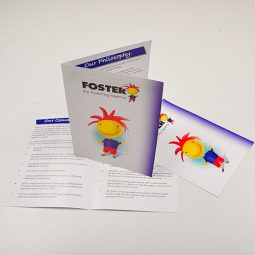 A3 Gloss Folded Leaflets