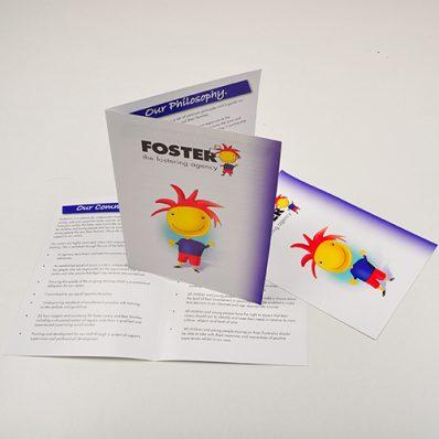 A3 Gloss Folded Leaflets