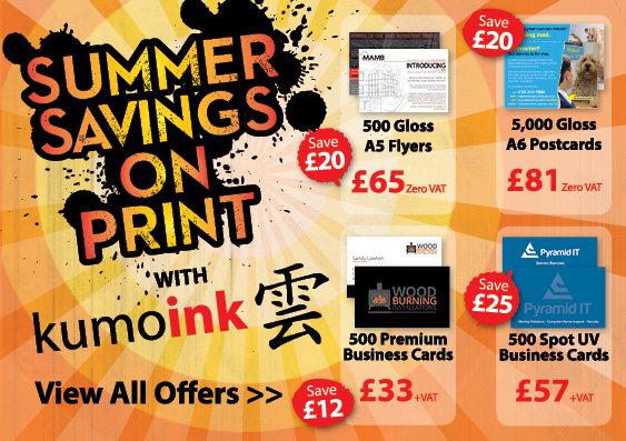 Kumo Ink July Summer Print Sale