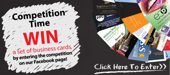 Enter to win a set of business cards