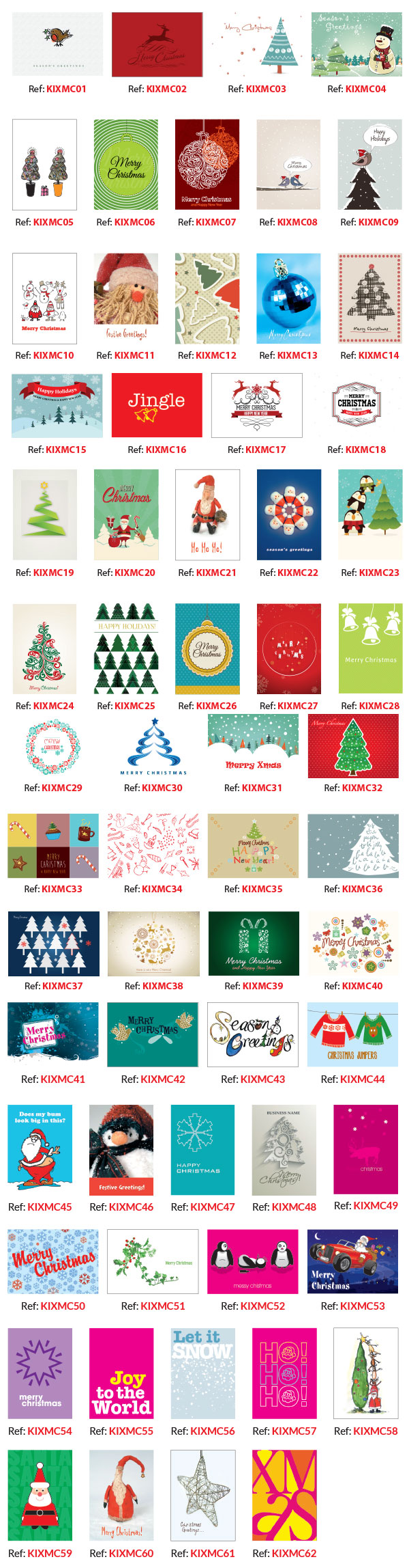 Personalised Christmas Cards Designs