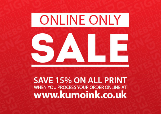 Online Only Sale at Kumo Ink