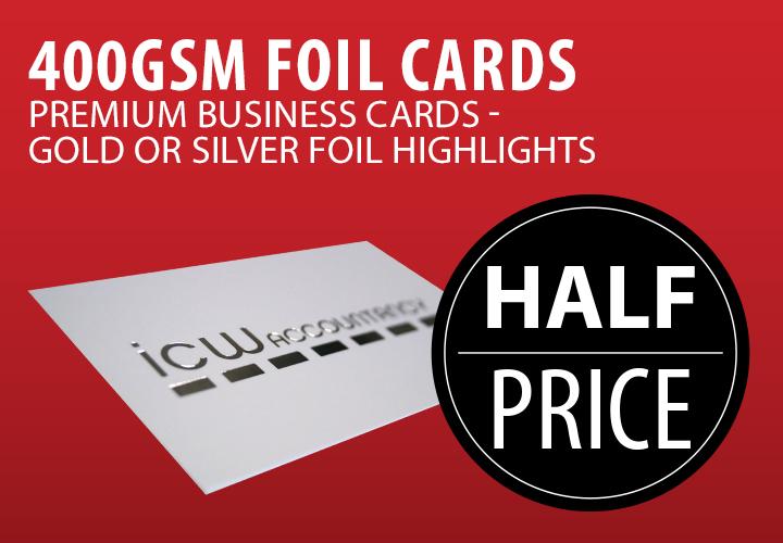 Foil Business Cards In Edinburgh