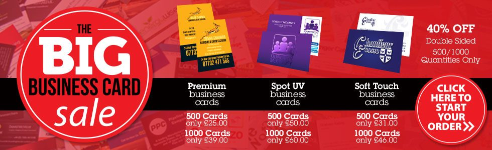 The BIG Business Card Sale