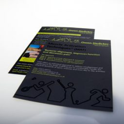 A4 Spot UV Gloss Flyer