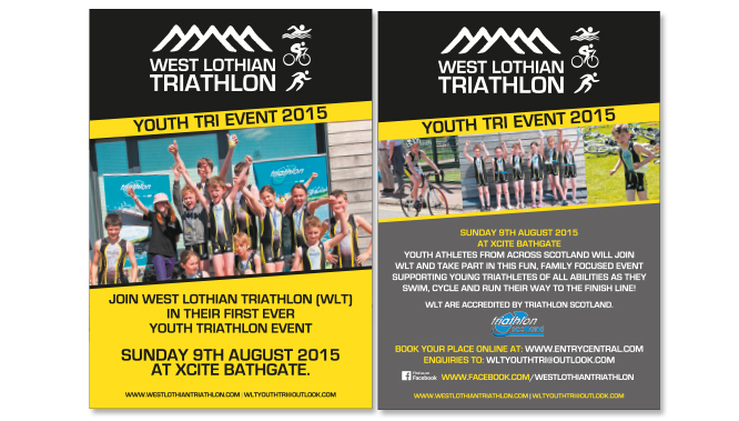 West Lothian Triathlon Flyer