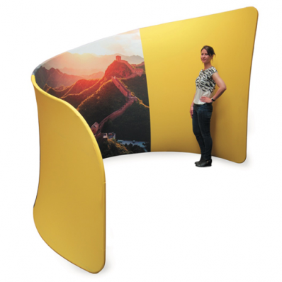Printed Exhibition Booth