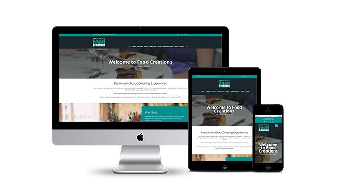 Food Creations Website