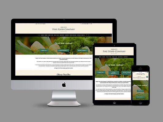 Hogan's Fine Food Company Website