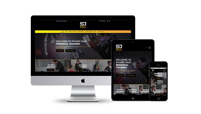 Stuart Jack Personal Training Website