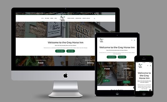 Grey Horse Inn Balerno Website