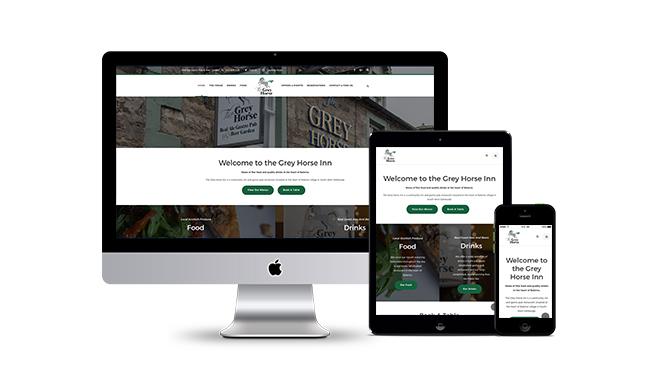 Grey Horse Inn Website