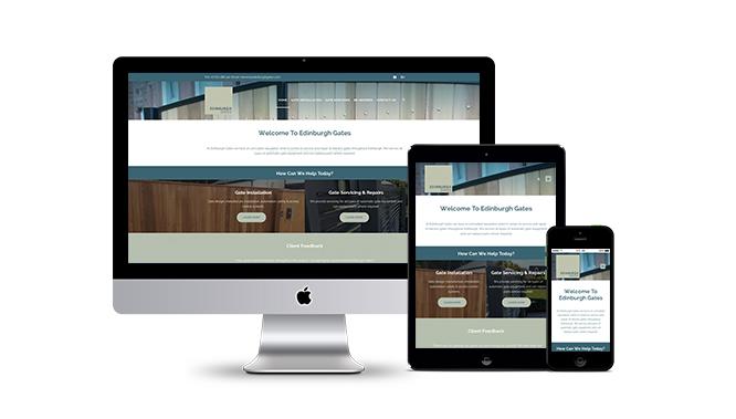 Edinburgh Gates Web Design