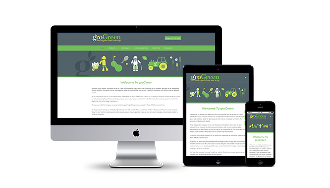 GroGreen Web Design