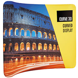 Curved Exhibition Backdrop Sale