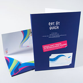 Soft Touch Presentation Folder Discounts
