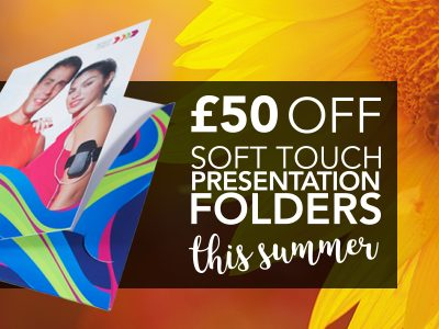 Summer Sale Soft Touch Folders Offer
