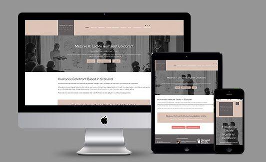 Melanie Leckie Website