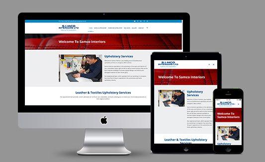 Samco Interiors Website Build