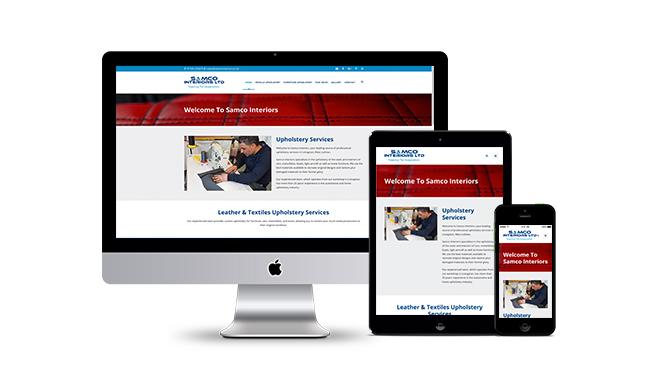 Samco Interiors Website